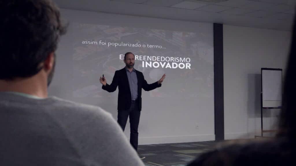 apresentação de pitch